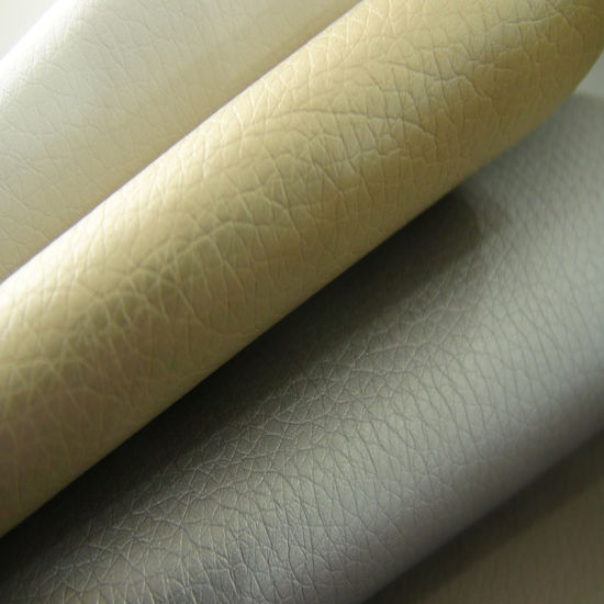 Litchi PU Artificial Synthetic Faux Imitation Leather for Upholstery-Higo