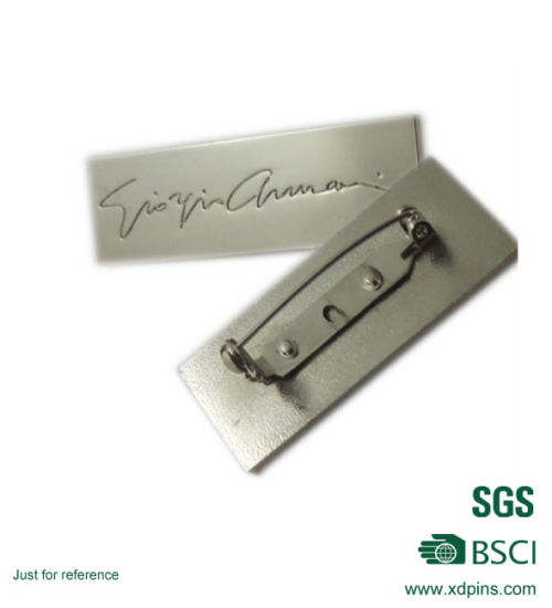 Hotsale Cheaper Metal Company Logo Name Badge (R0-17) pictures & photos