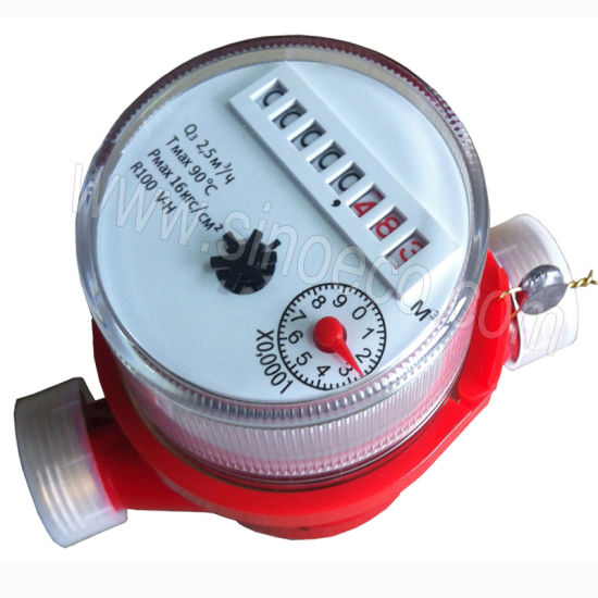 LXSC-D3R Volumetric Potary-Piston Hot Water Meter