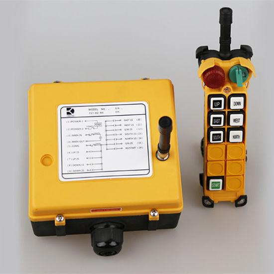 65-440V F21-2D Hoist Crane Wireless Remote Control Double speed button 1T+1R