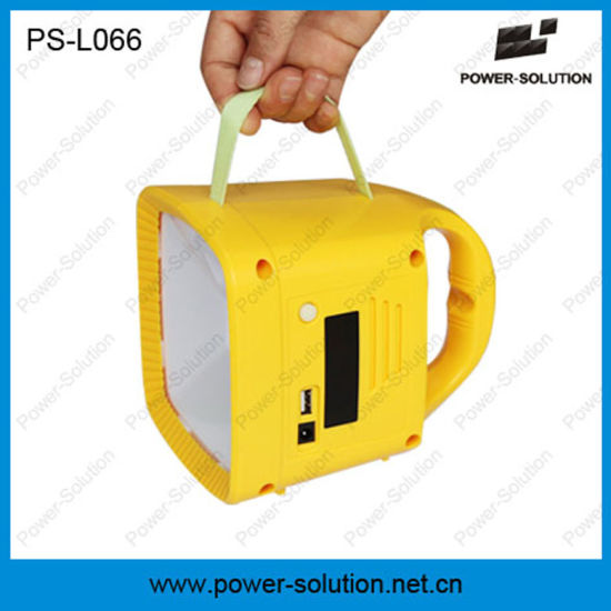 Qualified Solar Lantern with FM Radio and MP3 Player pictures & photos