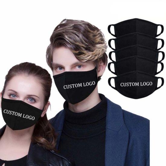 High Quality OEM Custom Black Polyurethane Anti Air Pollution Pm2.5 Filter Safety Pita Washable Sponge Dust Face Maskes