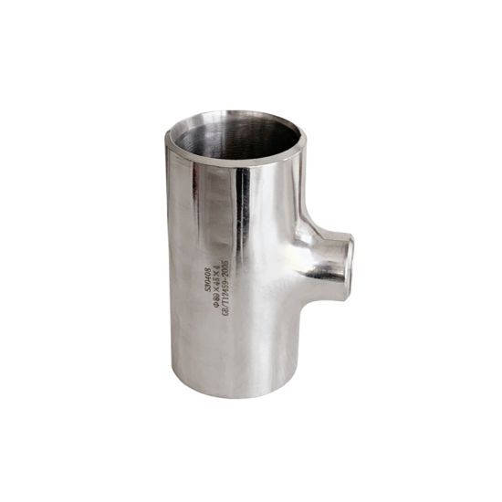 Hygienic Stainless Steel Pipe 304 for Water Supply Reducing Tee Sanitary Fitting