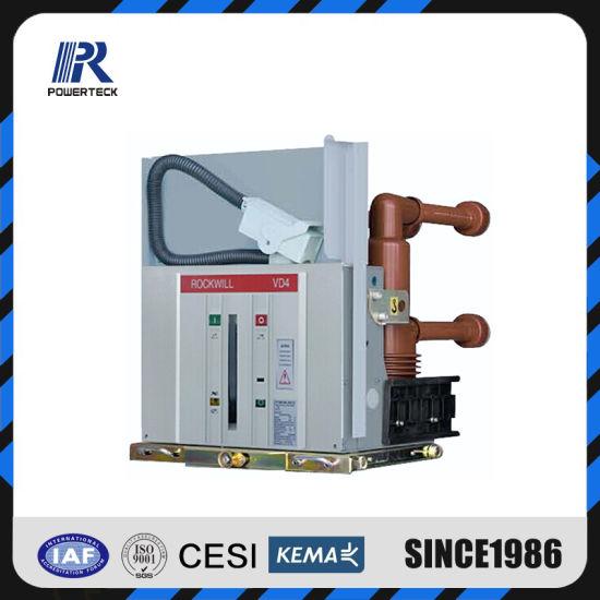 Vd4 Type Indoor Fixed or Withdrawable Vacuum Circuit Breaker