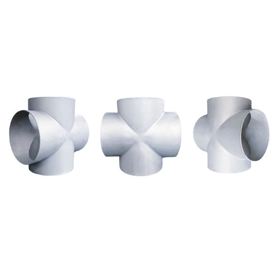 ASME B16.9 Factory Price Pipe Fittings Joint Connection 4-Way Straight Cross