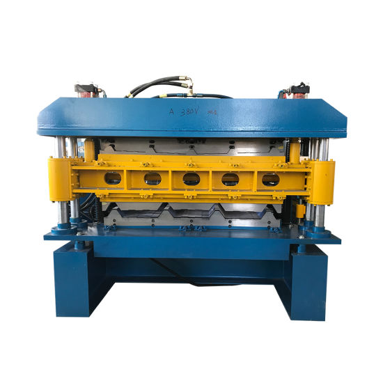 Metal Roofing Sheet Double Layer Corrugated Sheet Roof Roll Forming Machine