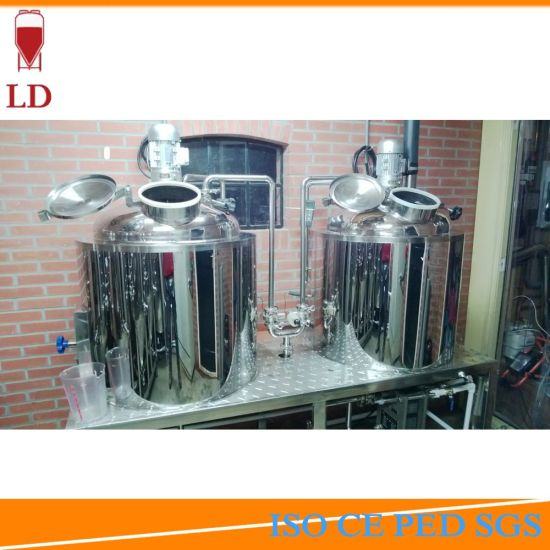 100L Brewhouse Micro Brewing System 1hl Brewery Equipment Brew Kettle