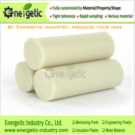 Natueal Cast Polyamides Nylon Rod for Buffer Pads, Natural Color with SGS,Nylon Bar,Nylon Blocks,Nylon Plastic Blocks,Nylon Rod,Nylon Bar,PA Sheet,Mc Nylon Rod pictures & photos
