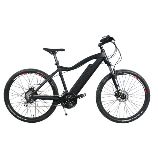27.5'' Aluminum Electric Mountain Bike 24 Speed Ebike, 350W Electric Bicycle for Adults