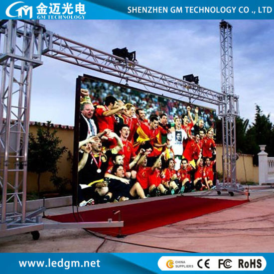 Stage Rental HD Full Color LED Video Wall with Indoor Outdoor Use (P3.91, P4.81)