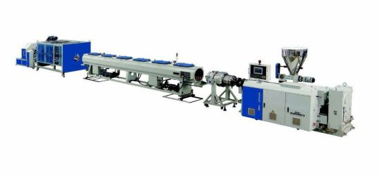Jwell Waste Plastic Recycling CPVC/UPVC/PVC Water Pipe Extrusion Line/Corrugated Pipe Making Machine/ Extruder Machine