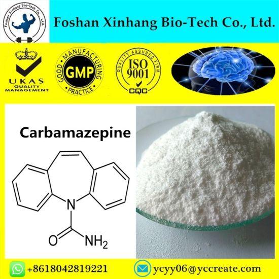 99% Anticonvulsant Powder Carbamazepine Treat Epilepsy and Neuropathic Pain