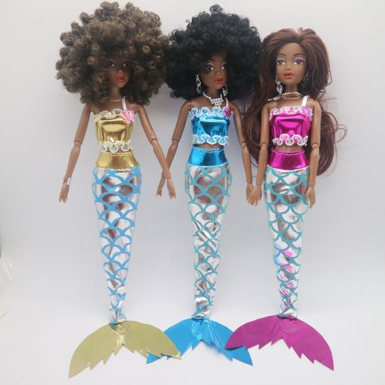 Black Skin Dolls Fashion Doll Plastic Dolls Toy Black Toy Dolls Africa Dolls