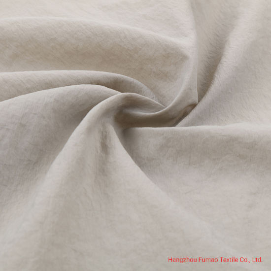 310t Plain Nylon Garment Fabric with PU Oil Caladering