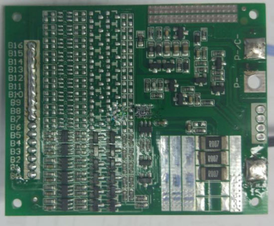 16 Series Cells 20A Lithium Power Battery Protection Board PCM