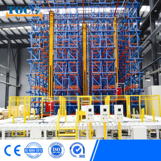 Toco High Density Industrial Automatic Warehouse Racking System Automated Storage Crane System Asrs