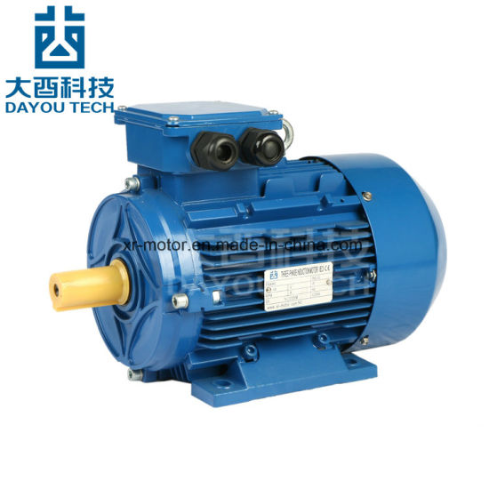 Ie3/Me3 High Efficiency Aluminium Housing Three Phase AC Electrical Induction Synchronous Electromotor Fan Gearbox Air Compressor Single Phase Electric Motors