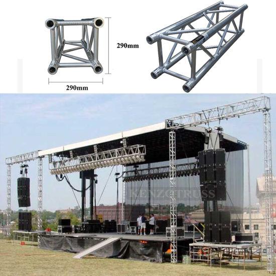 Aluminum Alloy Square Spigot Truss System Concert Stage Lighting