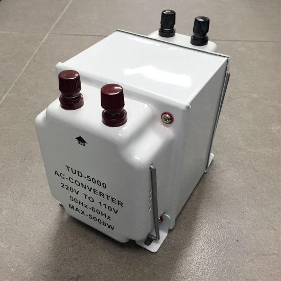 110V 220V 5000W Voltage Converter Step up and Down Transformer