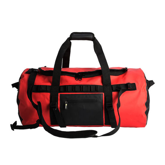 Enfung Outdoor Waterproof Tarpaulin PVC Travel Bag Vintage Sport Duffel Bag  pictures   photos e7b4b7ac49b41