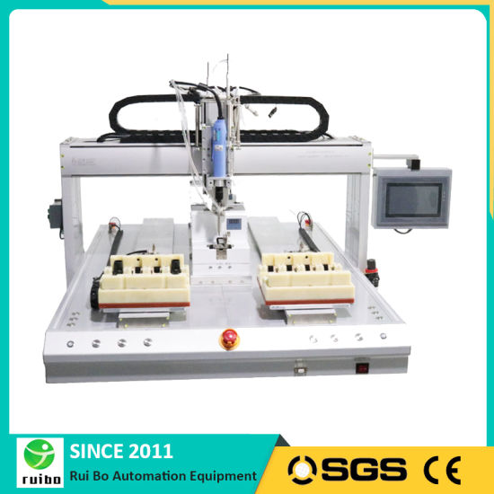 Electric Screwdriver Assembly Machine with Place Products Front and Pick out Rear Function