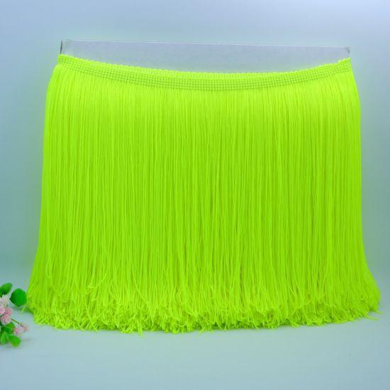 High Quality 20cm More Colors Double Thread Nylon Fringe Tassel/Tassel Fringe