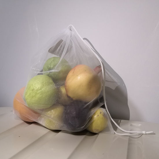 Reusable Fruit Vegetable RPET Polyester Mesh Bags pictures & photos