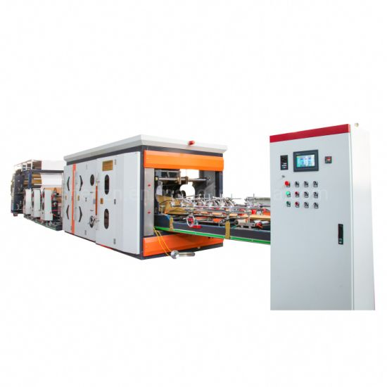 Multiwall Cement Paper Bag Tube Making Machine with Printing