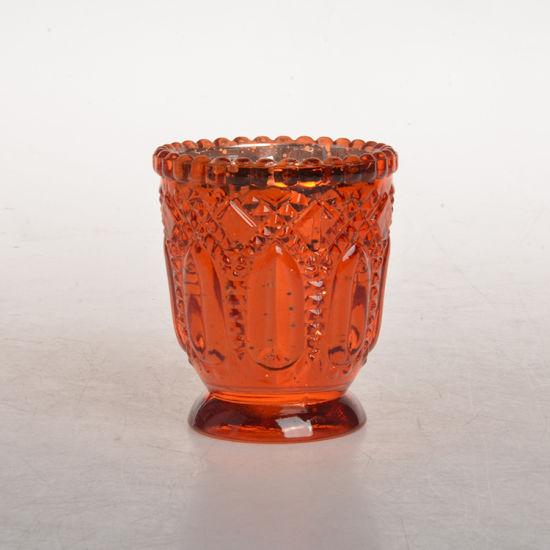 Wholesale Good Grade Vintage Glass Candle Holder Glass Candle Jar for Home Decoration