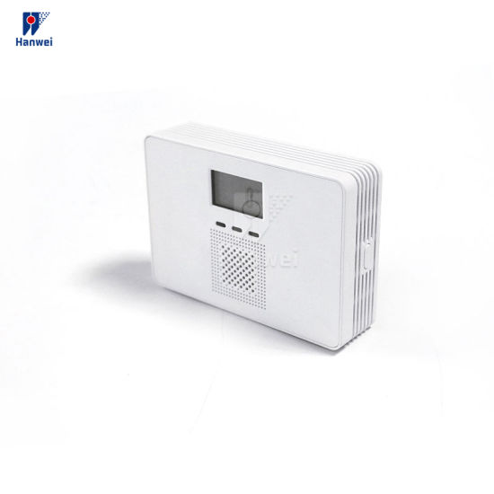 Home Security Standalone DC9V Battery Operated Carbon Monoxide Poisoning Warning Detector