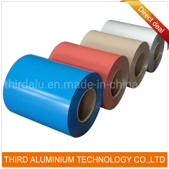 3003 Alloy H46 Ral Color PVDF Coated Aluminum Coil Strip for Channel