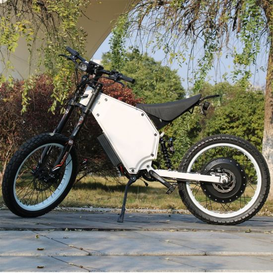 High Speed Mountain Green Power Electric Bike 72V 12000W