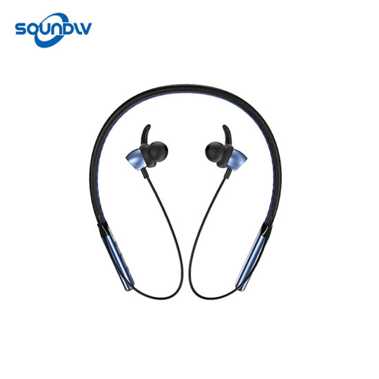 OEM Headsets Necklace Earphone Sport Wireless Smart Phone Bluetooth Headset  Earbuds