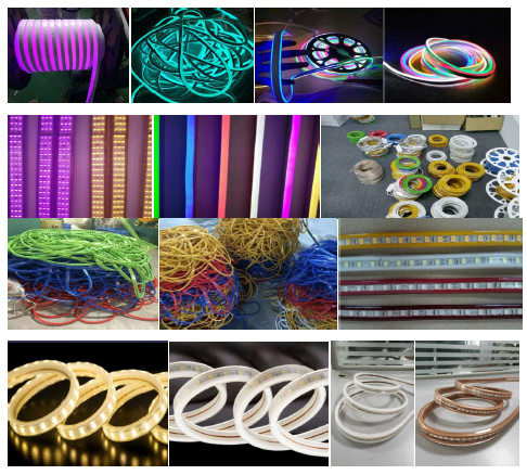 Flexible Neon LED Light Extruding/Extuder/Extrusion Forming Machine