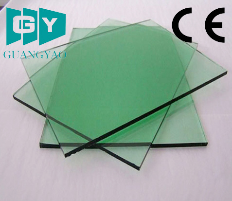 Quanlity 5.0mm Green Glass/ Tinted Glass for Decorative Price pictures & photos