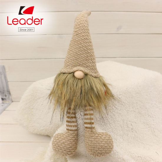 Gnome Figurine With Fabric Felt