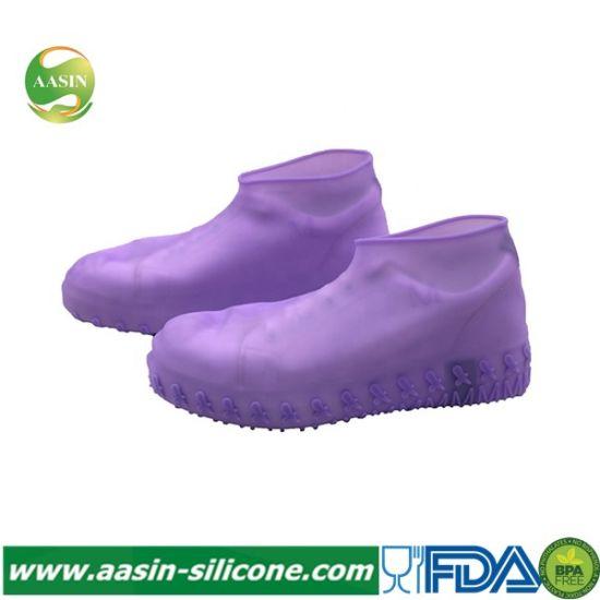 Soft Waterproof Silicone Rain Boot