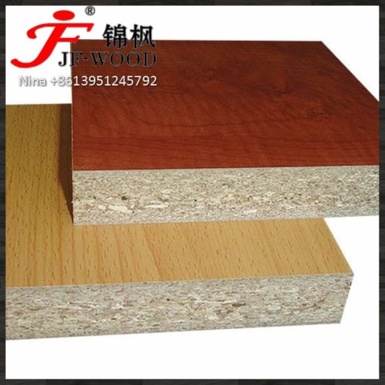 Chipboard/Melamine Particle Board Solid and Wood Grain Color