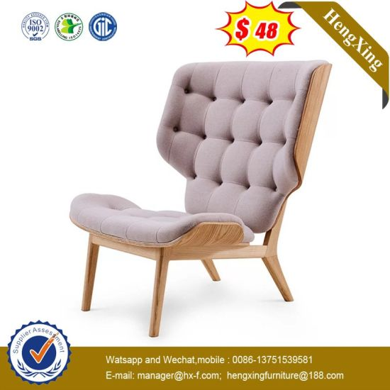Modern Fabric Leather Office Home Hotel Living Room Furniture Table Set Leisure Sofa Chair