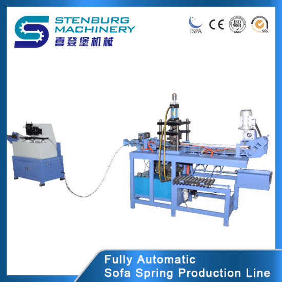 Automatic Wire Zig Zag Spring Forming Machine for Sofa