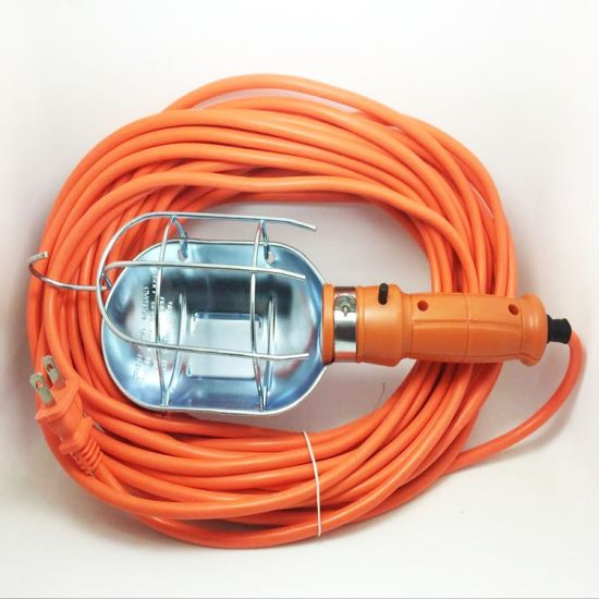 UL Approved Portable Salt Lamp Power Cord with 2 Pins Plug