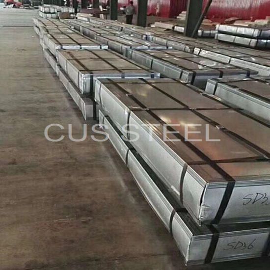 Enamel Paint Corrugated Metal Roofing Ppgi Steel Ceiling Panel