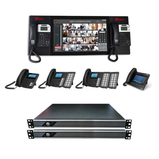 China Broadcast SIP Server Ippbx Telephone Server System
