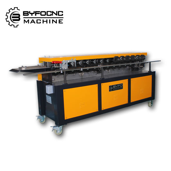 HVAC Duct Manufacturing Tdf Flange Roll Forming Machine From Byfo