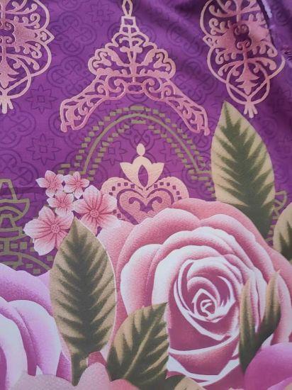 New Design Flower Pattern Bedding Sheet for Polyester Fabric
