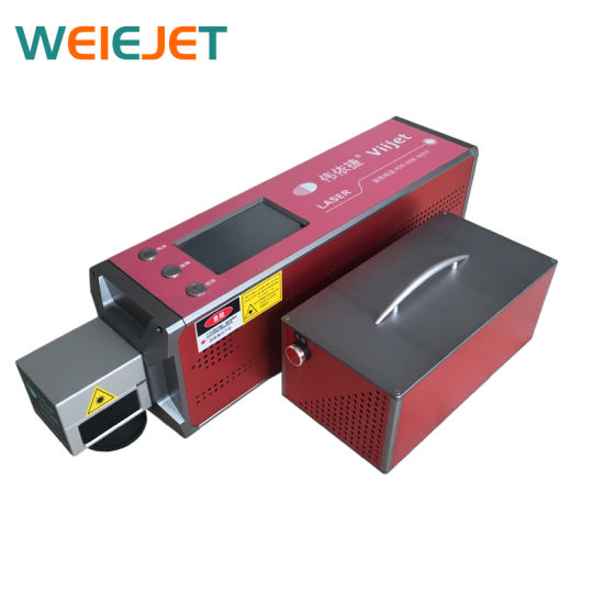 30W CO2 Touch Screen Laser Marking/Coding/Engraving Machine