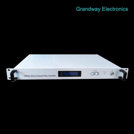 CATV 1550nm Optical Amplifier (EDFA) 23dB-60V