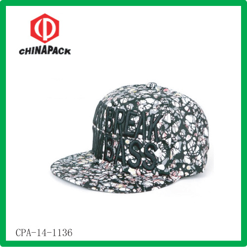 Printed Pattern Customized Baseball Caps (CPA-14-1136) pictures & photos