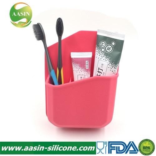 BPA Free Silicone Toothbrush Holder