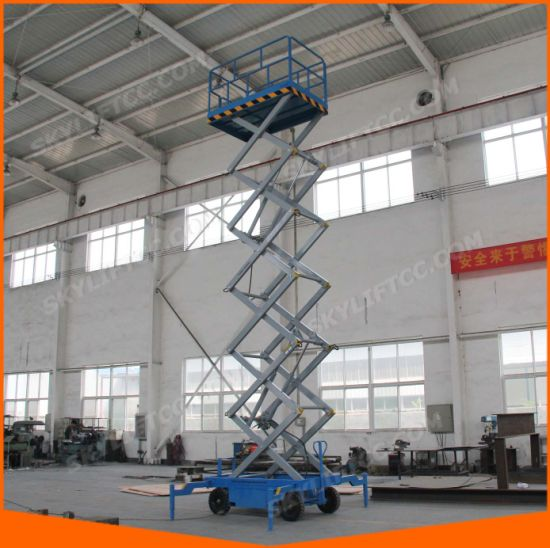 China 10-16m Rental Scissor Lift for Working in High - China